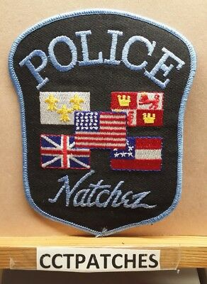 Natchez, Mississippi Police Shoulder Patch Ms