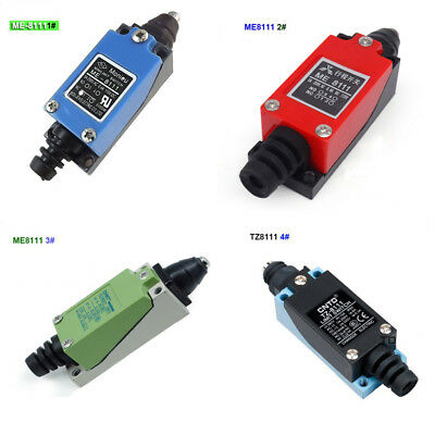 4 Kinds of grade  Pin Plunger Type Momentary Limit Switch ,CNC Mill TZ ME-8111