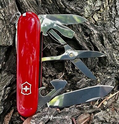 Swiss Army Knife, Red Super Tinker, 91mm, Victorinox 53341, New In Box