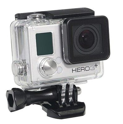 External Microphone Open Skeleton Housing Case For  GoPro Hero 4 HERO3+/3