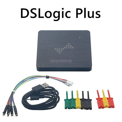 DSLogic Plus Logic Analyzer 50M Bandwidth Sampling 16 Channel Stream+Buffer 16G