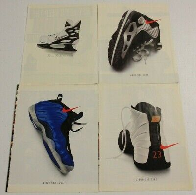 Vintage Nike Phone Number Sneakers Advertising Print Ad Poster | You Pick