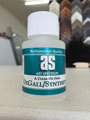 Art Spectrum Synthetic Ox Gall 50ml (wetting Agent)