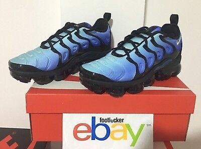 cce94062dacc 2018 Nike Air VaporMax Plus Hyper Blue Black Fade 924453-008 Men s Size 8-