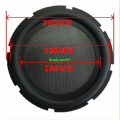 "1pcs 10""inch 250mm bass radiator passive Speaker Woofer vibration diaphragm"