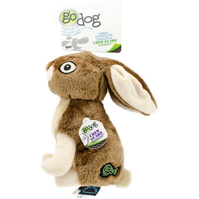 Worldwise 770282 goDog Wildlife with Chew Guard Large-Rabbit