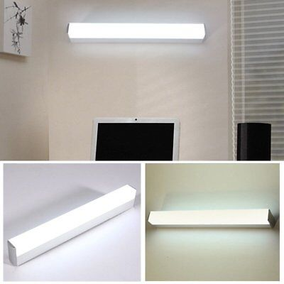 Modern Bathroom Toilet Vanity Wall Makeup Light Mirror Front LED Lamp Waterproof