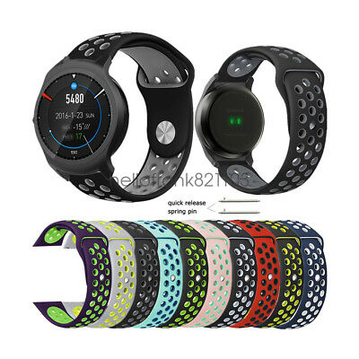 Breathable Soft Silicone Sport Watch Band Strap for Ticwatch Pro / 2 / E/ S/ 1st