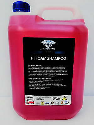 Pressure Wash Shampoo Snow Foam 5 L Ltr Litre Car Cleaner