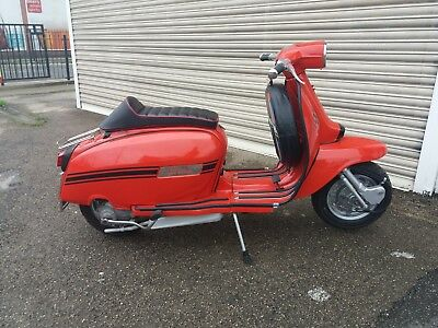 Italian Lambretta GP150 Scooter - 175cc Reg as a 125cc