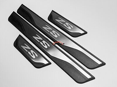 For MG ZS Accessories Door Sill Protectors Pedal Scuff Plate Guard 2017 2018
