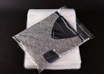 Garment bags clear cellophane plastic packaging for Belts Ties slim items