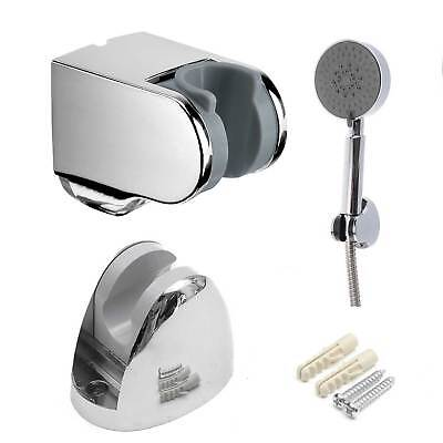 Wall Mount Bathroom Hand Held Shower Head Mounted Bracket Holder