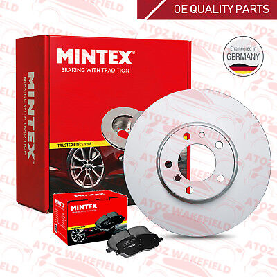 FOR AUDI SEAT SKODA VW FRONT PREMIUM QUALITY MINTEX BRAKE DISCS PADS 256mm
