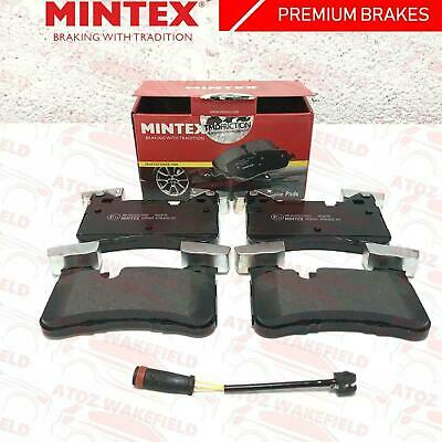 For Mercedes Benz C63 E63 Cls63 Amg Rear Premium Mintex Brake Pads Sensor Wire