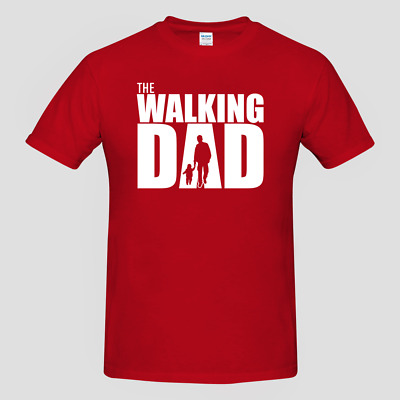 MENS T-SHIRT The Walking Dad Walking Dead Parody Fathers Day Gift
