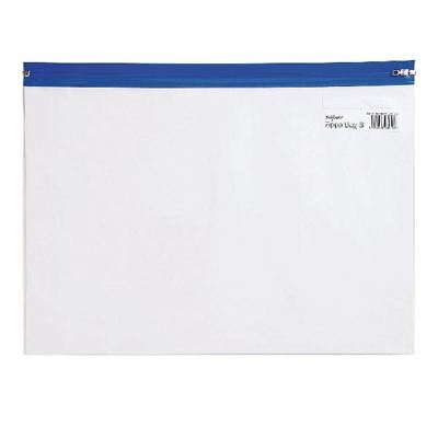 Snopake A4 Blue Zippa Bags (Pack of 25) 12736 [SK12736]