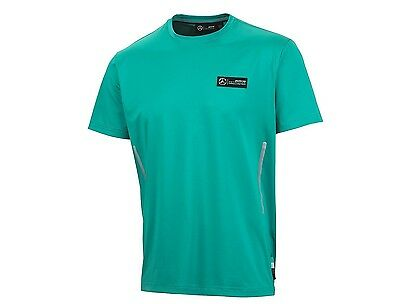 OFFICIAL F1 Mercedes AMG Petronas Mens Pit Crew T-shirt GREEN – NEW