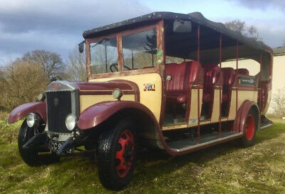 Vintage 1929 Dennis Charabanc Bus to be sold through auction Monday 30th April