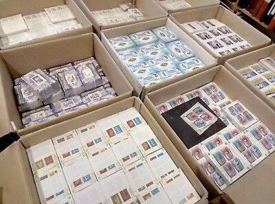 Wholesale MNH Europa S/Sheets, over 200 EUR CV, Over 40 EUR face, 22 diff sheets