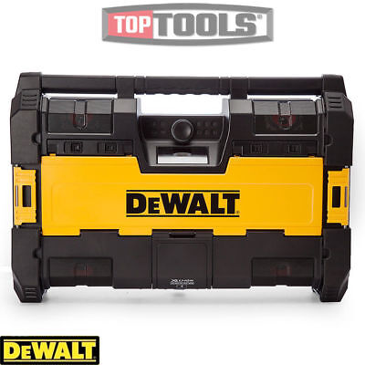 Dewalt DWST1-75663 18v Toughsystem Radio DAB+ With 6 Speakers, Bluetooth and USB