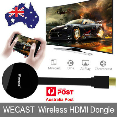 WECAST TV Stick for Netflix Youtube 1080P HDMI WIFI Miracast Airplay DLNA Dongle