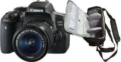 NEW Canon 750D + EF-S 18-55mm IS STM + KamKorda Bag + UK NEXT DAY DELIVERY