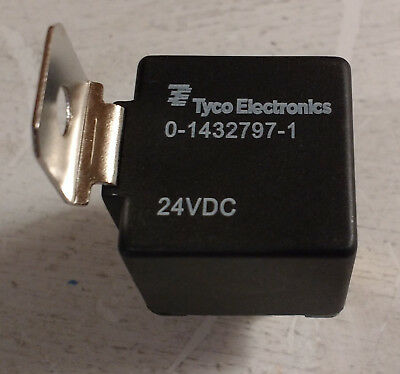Tyco Electronics 0-1432797-1, SPDT Relay 24VDC, Chassis Mount