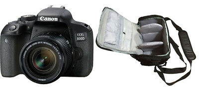 NEW Canon 800D + EF-S 18-55mm IS STM + KamKorda Bag + UK NEXT DAY DELIVERY