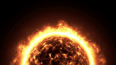 I will create a SUNSHINE planet space video intro for your logo