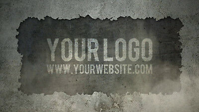 I will reveal your logo on this WALL earthquake video intro