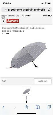 Supreme x Shedrain 3m Umbrella Repeater