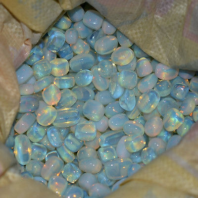 50g Shiny Large Particles Opal Crystal Stone Polished Crystal Rock Chips CR8