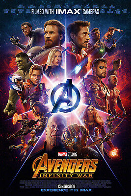Avengers Infinity War Movie Poster - 2018 Film - IMAX High Quality Prints