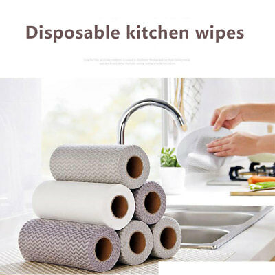 Disposable Non-Woven Kitchen Cleaning Cloth Wiping Cloth Dish Towel Water Tank