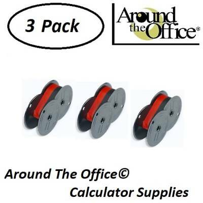2 PACK Sharp QS-2660 Calculator Ribbon Black and Red Sharp QS2660 Ink