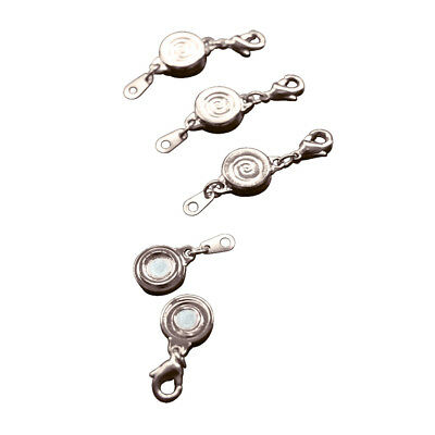 Women's Magnetic Locking Jewelry Clasps - Easy Of/Off - Set of 4