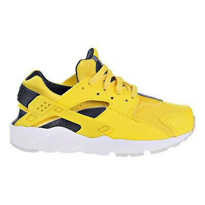 Nike Huarache Little Kids Running Shoes Tour Yellow Anthracite-White 704949- 700 afd084380