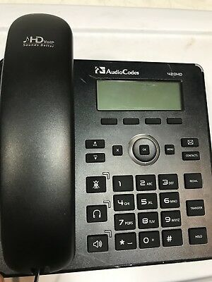 Audio Codes 420HDG IP Phone and Handset