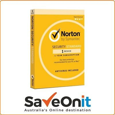 Norton Internet Security Standard 2018 1 device 1 Year Fast Email License Key