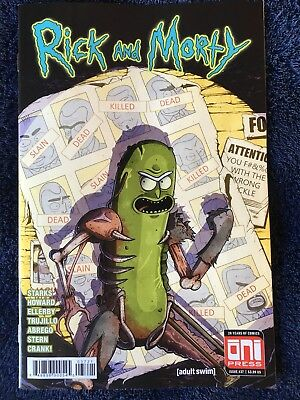 Rick and Morty #37 | X-Men 141 Homage with Pickle Rick Variant