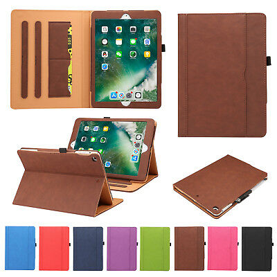 """Smart Magnetic Leather Flip Card Slot Stand Case Cover For iPad Air 2/9.7"""" 2017"""