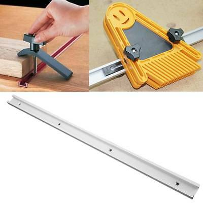 1pc 600mm T-track T-slot Miter Track Jig Fixture Woodworking Tool F Router Table