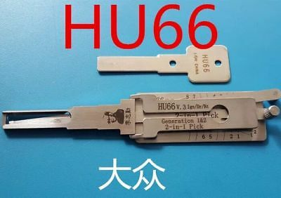 LISHI T3 HU66 (Gen 3) 3-in-1 Pick/Decoder designed for Seat, Volkswagen, Audi