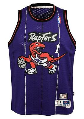 2fd9e3545eb Tracy McGrady Toronto Raptors NBA Youth Throwback 1998-99 Swingman Jersey