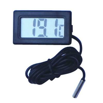 Mini Digital LCD Temperature Luftfeuchtigkeit Thermometer -50°~+100° 3 m Kabel