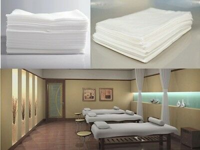 10pcs Massage Beauty Waterproof Disposable Bed Table Cover Sheets 80X180cm