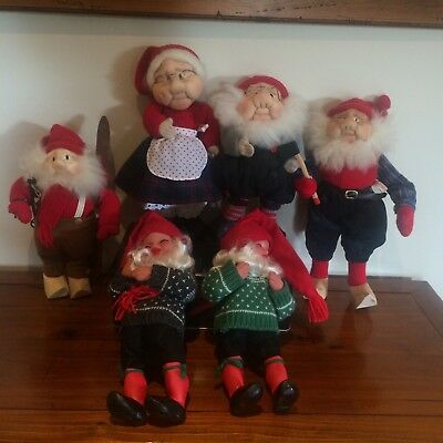 Christmas Ornaments Decorations Figurines Statue Gnome Troll Dolls Elf