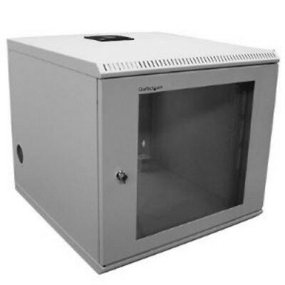 NEW STARTECH CAB1019WALL 10U 19 WALL MOUNTED SERVER RACK CABINET....b.
