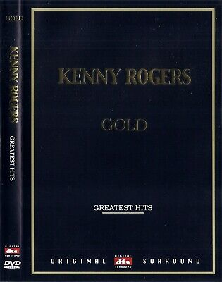 KENNY ROGERS GOLD - Greatest Hits (+ Karaoke) DVD NEW *FAST SHIPPING*